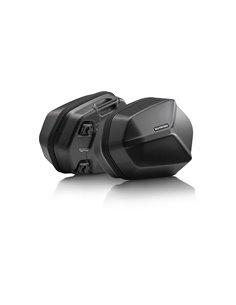 Sistema de Maletas Laterales AERO ABS SW-Motech 2x25 l para Honda CB500X, CB500F / CBR500R (-15).